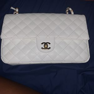 White Chanel Bag for Sale in Beltsville, MD
