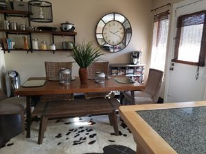 Wood Kitchen Table Only for Sale in Columbus, OH