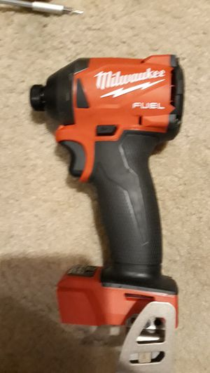 NEW 4 Speed Milwaukee m18 FUEL Brushless 18 Volt 1/4 Hex Impact Drill Driver 2020 Model BARE TOOL for Sale in Lexington, NC