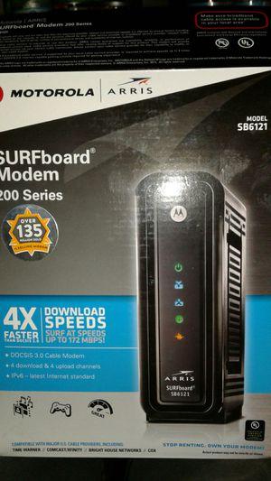 Motorola Surfboard Modem 200 Series for Sale in Dallas, TX