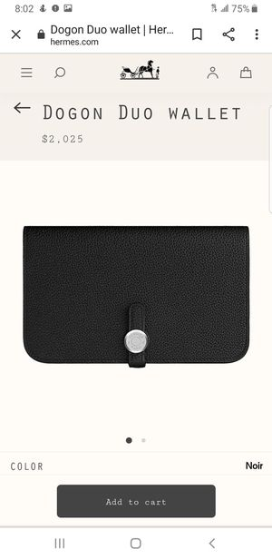 Hermes Dogon Duo Wallet for Sale in Snohomish, WA