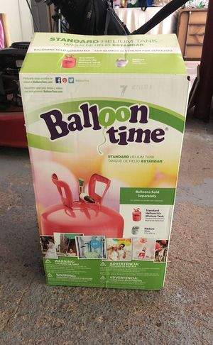 Helium Tank for Balloons for Sale in Mansfield, MA