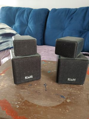 KLH audio speakers for Sale in Bexley, OH