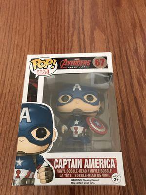Age of ultron captain America funko pop for Sale in Centreville, VA