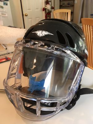 Hockey helmet with shield for Sale in Scotts Valley, CA
