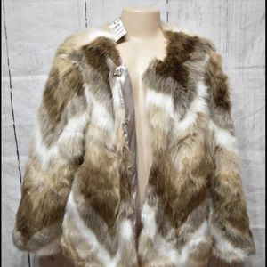 Alfani Faux Rabbit Coat for Sale in Beaverton, OR