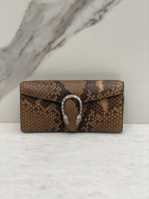 Authentic Gucci python clutch for Sale in Issaquah, WA
