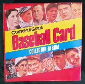 Consumer Guide Baseball Card Collector Album for Sale in Riverside, CA