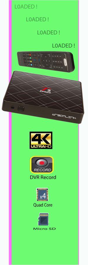 Kick the c a b l e b î l l - IPTV Streaming HD 4K Smart TV Box DVR Recorder Wireless No Fire Stick Apple Cable TV for Sale in Miami, FL