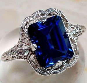*New Arrival* Vintage Blue Sapphire Ring Jewelry Sz 10 *See My Other 300 Items* for Sale in Palm Beach Gardens, FL