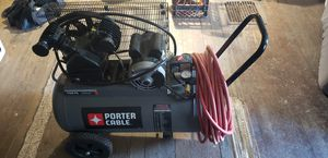 Porter cable air compressor for Sale in Cabot, PA