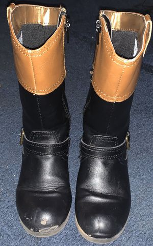 Girl boots size 10.5 for Sale in Salisbury, NC