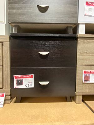 Nightstand, Red Cocoa for Sale in Norwalk, CA