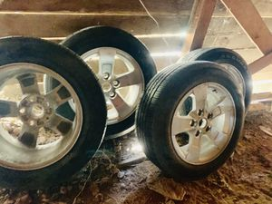 Goodyear tires and Rims PRICED TO SELL :) for Sale in Bisbee, AZ