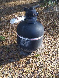 Jacuzzi Laser Sand Filter for Sale in Fort McCoy,  FL