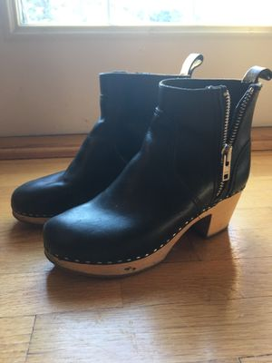 swedish hasbeens boots size 39 (about 8.5) for Sale in Edmonds, WA