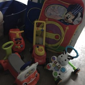 Baby Toys And High Chair Bundle for Sale in Dallas, TX