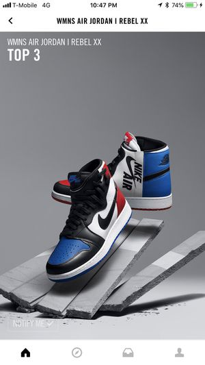 Jordan 1 Rebel XX top 3 for Sale in Chicago, IL