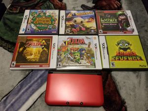 3ds xl with games for Sale in Kankakee, IL