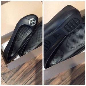 Crocs Black slip on flats size women's US10 for Sale in Houston, TX