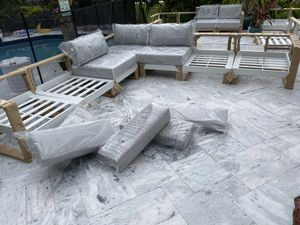 Outdoor patio sectional (FERUCI, Aruba collection) for Sale in Fort Lauderdale, FL