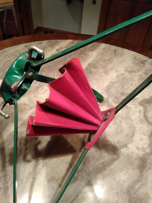 Vtg Christmas tree stand for Sale in Lockport, IL