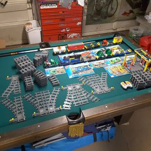Lego train lot with LOTS of track for Sale in Denver, CO
