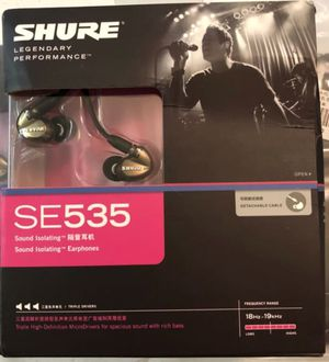 Shure SE535 for Sale in Harrisonburg, VA