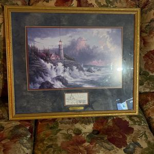 Conquering The Storms By Thomas Kinkade for Sale in Puyallup, WA