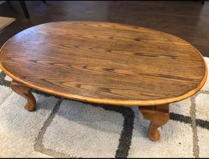 Wooden coffee table and two side tables. for Sale in Apex, NC