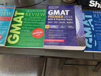 GMAT Study Materials -Like New for Sale in Smyrna,  GA