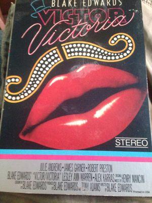 Victor Victoria VHS for Sale in Hudson, FL