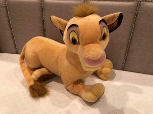 Disney Lion King 'Simba' jumbo plush for Sale in Woodstock, GA