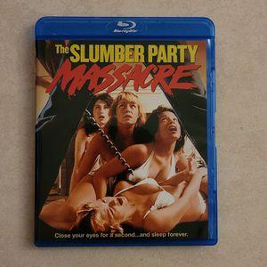 Slumber Party Massacre Blu Ray Horror Movie for Sale in Azusa, CA