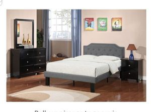 BRAND NEW TWIN BED AVAILABLE IN FULL ADD DRESSER NIGHTSTAND AND ADD MATTRESS AVAILABLE ALL NEW BY USA MEXICO FURNITURE for Sale in Pomona, CA