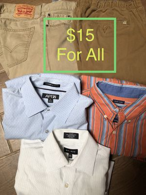 Men's clothes $15 all for Sale in Plano, TX