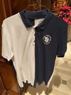 New men's True Religion brand polo shirt size 3Xl for Sale in Fresno, CA