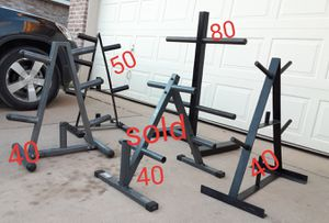 Weight storage different price for Sale in Saginaw, TX