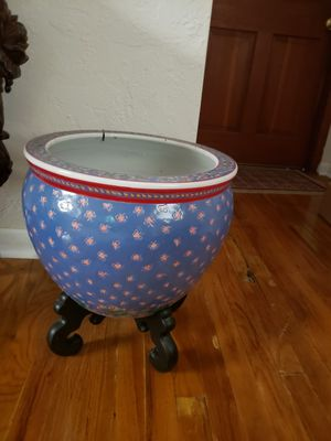 Chinese plant bowl for Sale in Sarasota, FL