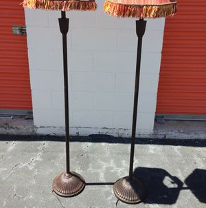 Floor lamps from Pier One in perfect condition. for Sale in Greenville, SC