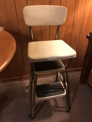 Cosco Counter Chair / Step Stool with Pull-out Steps for Sale in McKnight, PA