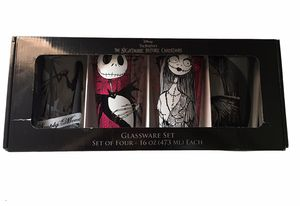 Nightmare Before Christmas 16oz glass cups for Sale in Hialeah, FL
