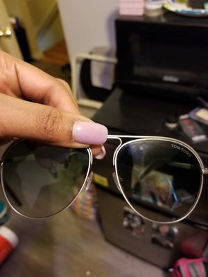 Tom Ford Sunglasses! The real thing, hardly ever worn them. my fiance just don't want them anymore... for Sale in Alexandria, VA