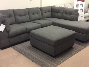 Brand new ashley sectional and ottoman combo on sale today!!! for Sale in Columbus, OH