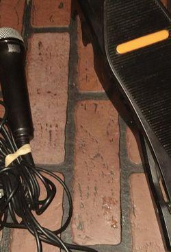 Rock Band, Microphone & Footpededel for Sale in Gresham,  OR