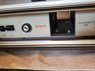 Argus Slide Projector Electromatic 560 for Sale in Snohomish,  WA