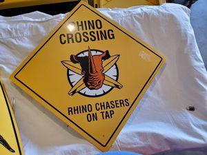 Rhino/Killer Whale Crossing Signs for Sale in Glendale, AZ