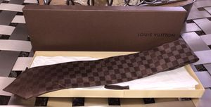 100% Authentic Louis Vuitton Tie $215+ with Reciept for Sale in Fairview Park, OH