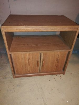 Small office table with shelf and cabinet space for Sale in Tampa, FL