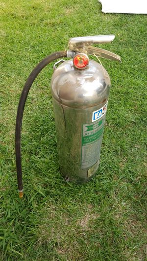 Water fire extinguisher, great for rinse kit or great squirt gun for Sale in San Diego, CA